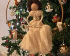 Handmade Macrame Doll   Etsy A Hook, Boy Doll, Macrame, Dolls, Handmade, Gifts, Etsy, Presents, Hand Made