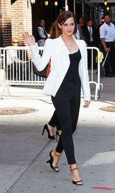 Emma Watson White Blazer