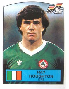 Ray Houghton Eire Football Stickers, Football Fans, Chris Morris, Celtic Fc, Republic Of Ireland, Vignettes, Euro, Memories, Baseball Cards