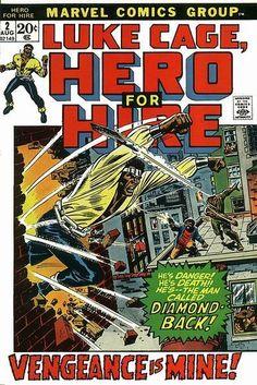 LUKE CAGE, HERO FOR HIRE 2, BRONZE AGE MARVEL COMICS