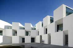 Housing for the Elderly by Aires Mateus, Alcácer do Sal, Portugal