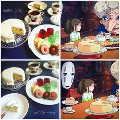 Ghibli Food – This Girl Is Recreating The Food From Miyazaki's Movies Couples Anime, Ghibli Movies, Girls Anime, Hayao Miyazaki, Food Themes, Aesthetic Food, Food Illustrations, Cute Food, Howls Moving Castle