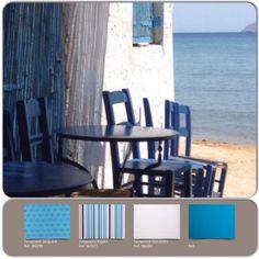 As cores da Grécia.Saiba mais em www.blog.donatelli.com.br ou no site www.donatelli.com.br