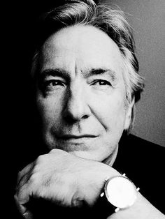 Alan Rickman, a former member of the Royal Shakespeare Company