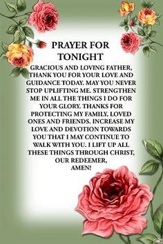 Good Morning Friends Quotes, Good Morning Messages, Prayer Of Praise, Good Night Prayer, Evening Prayer, Love My Family, Catholic, Prayers, Thankful