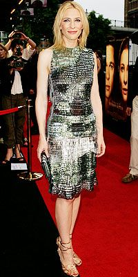"CATE BLANCHETT IN BALENCIAGA   WHEREThe Curious Case of Benjamin Button premiere in Sydney, Austrailia  WHY WE LOVE IT ""It's the uniqueness of the fabric that's so stunning because it's doing sparkle in a completely modern way. The technology of this dress is extraordinary."""