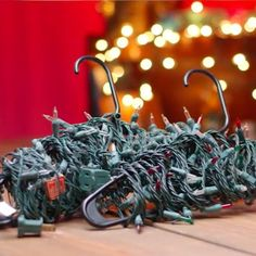 Tame the Tangle: Christmas Lights. Are your Christmas lights still up in the summer? Don't be that house.