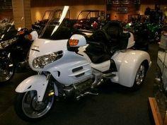 2004 Champion Trikes Honda Goldwing GL 1800 Trike Kit Goldwing Trike, Trike Kits, Mean Machine, Motorbikes, Honda, Motorcycles, Champion, Motorcycle, Motorcycle