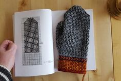 Lappone: Twined knitted mittens - Inspiration from Finland