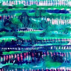 Splatter Rainforest by Amy Sia Textile Patterns, Print Patterns, Framed Art Prints, Canvas Prints, Art Terms, Art Background, Painting Inspiration, Illustration, Pattern Design
