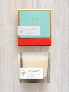 Tomorrow Scented Poetic License Candle | Lollia