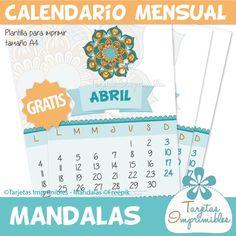 Descarga gratis el Calendario de Abril