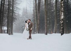 Wooden+Wedding+–+Winterhochzeitsidee+im+Wald