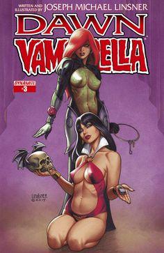 Dawn/Vampirella #3 - Part Three: Old Sins; Kissing the Green Man (Issue)