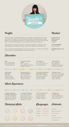 creative resume 17 Fantastic Examples of Creative Resume Designs