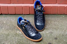 outlet store 84f09 db481 PUMA Chilena Lux - Black  Royal  Sneaker  Kith NYC