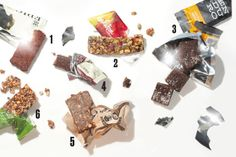 Six Snack Bars for Grab-and-Go Nutrition