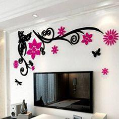 Haben Sie Langweilige Weiße Wände? Bekleiden Sie Ihre Wände Mit Diesemu2026  Fototapete, Tapeten · FototapeteTapetenWandgestaltungMalereiWohnenLaminatWand  ...