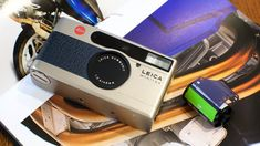 Leica Minilux point and shoot 35mm film camera