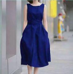 vestido casual  moderno abajo de rodilla   envío gratis 1815