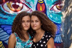 """""""We are twins, yet we have very different personalities. But when one of us is really sad or really happy, the other one feels that instantly."""" I met Camila and Bruna two weeks ago, on the streets of Rio de Janeiro, Brazil."""