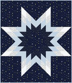 North Star quilt pattern by Stacey Day