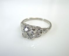 Vintage Engagement Ring CFA1406307