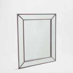 Imagen 1 del producto espejo efecto ventana blanco maria for Espejo rectangular plateado