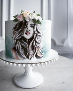 Оригинальная идея, безупречное оформление и качественное исполнение. Автор instagram.com/elena_gnut_cake