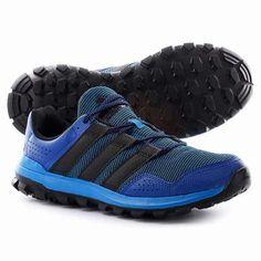 Adidas Uomini Terrex Swift Approccio Individuale Scarpe Tribù Blu / Nero
