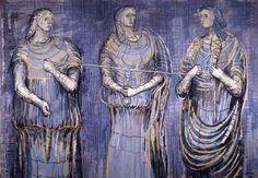 "►Greek Mythology: ""The Moirae"" (""The Three Fates"")"