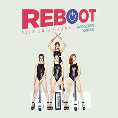 Wonder Girls are ready to rock out in 'Reboot' teaser images | allkpop.com