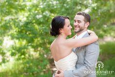 That sweet look of love? Irresistible! #firstlook #wedding