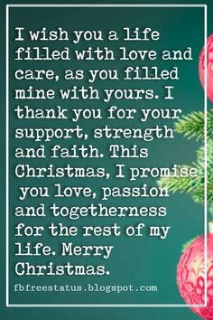 Christmas Quotes and Sayings Merry Christmas Love Quotes & Messages with Images Christmas Quotes For Friends, Merry Christmas My Love, Christmas Messages, Christmas Greetings, Vintage Christmas, Christmas Cards, Xmas, I Love You Quotes, Love Yourself Quotes