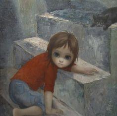"""Keane Art - The """" Big Eyes"""" paintings"""
