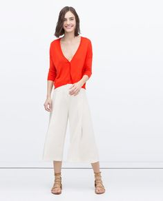 ZARA - NEW THIS WEEK - SHORT CARDIGAN