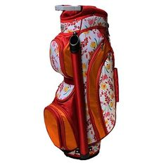 Glove It Poppy Ladies Golf Bag Glove It 8 Way golf bags are fabulous. Golf bags are light in weight and constructed with 75 denier nylon. We love the new floral print. Very pretty colors! The Glove Golf Push Cart, Ladies Golf Bags, Perfect Golf, New Golf, Womens Golf Shoes, Golf Fashion, Ladies Fashion, Play Golf, Poppy