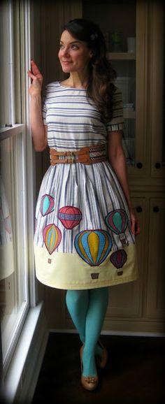 Cassie Stephens: DIY: Fulla Hot Air Frock