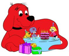 How to plan a Clifford-themed birthday party! Everyone loves the big red dog.