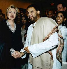 Quote ~ After some clever Photoshop editing, however, Hillary Osama bin Laden's head was placed on Mukheriee's body to make it look like Hillary was shaking the hand of America's biggest enemy: