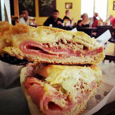 Cuban Sandwich at Aguila Sandwich Shop in Tampa.