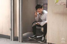 [Picture/FB] BTS 상남자(Boy In Luv) MV Shooting sketch [140215]
