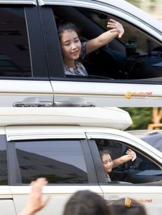 photo of Lee Ji-Eun  - car