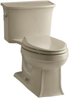 Kohler K-3639 Archer 1.28 GPF One-Piece Elongated Toilet with AquaPiston Technol