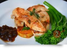 Chicken Tenderloin with Sweet Potato