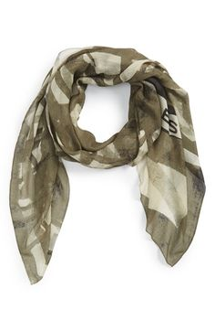 MARC BY MARC JACOBS 'Drippy' Plaid Scarf available at #Nordstrom