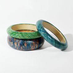 Pour apporter une touche de couleur et de nature à une tenue! #braceletvégétal #handmade #ithembadesignethik