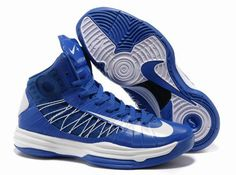 Nike 2013 Womens Lunar Hyperdunk Game Royal White Basketball Shoes