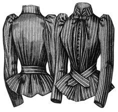 ageless patterns #1072, 1891 Silk Shirt Waist,   made several times, a great blouse pattern.