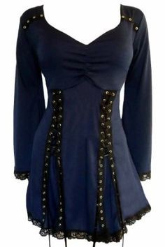 Dare To Wear Gothic Victorian Women's Plus Size Electra Corset Top